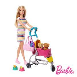 Barbie CPA  e a sua mascote (loira)  (3 anos - 6.99 x 22.86 x 32.39 cm)