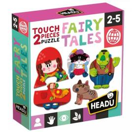 2 Pieces Touch Puzzle Fairy Tales