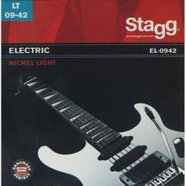 Jogo de Cordas Guitarra Eléctrica Stagg EL-0942