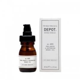 Depot Nº 403 Pre-shave & Softening Beard Oil Sweet Almond 30ml