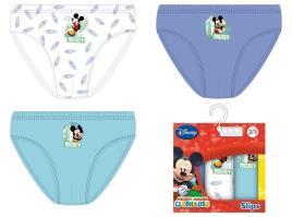 Pack 3 Cuecas Disney Mickey Surf -  6- 7 Anos