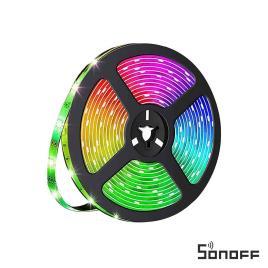 Fita De LEDS 150 2835 RGB 12V 5m IP65 SONOFF