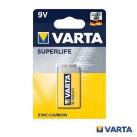 Pilha 9V 6F22 / 6LR61 (2022) - VARTA SUPERLIFE