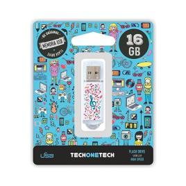 Pendrive 16gb Tech One Tech Music Dream
