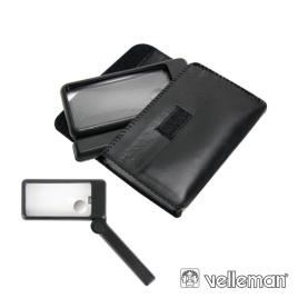 Lupa Para Leitura Com Iluminação 2x/6x Velleman