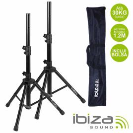 Conjunto 2 Suportes P/ Colunas C/ Bolsa 1.2m 30kg Ibiza