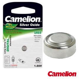 Pilha Botão Sr69 / G6 1.55v 78ma Blister Camelion
