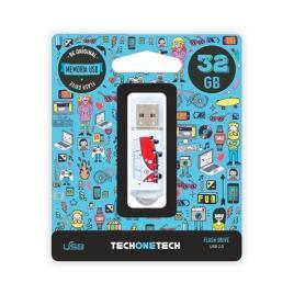 Pendrive 32gb Tech One Tech Camper Van-Van