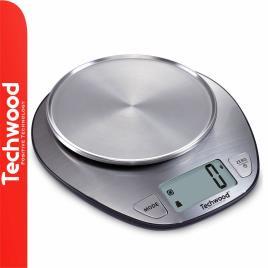 Balança Cozinha Digital 5kg Inox TECHWOOD
