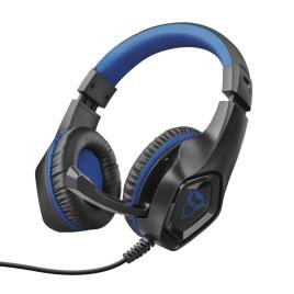 Headset Trust Gaming GXT 404B Rana Jack 3.5mm Azul