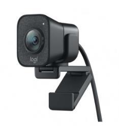 Webcam Logitech StreamCam Full HD 1080p USB 3.1 Type-C - Preto