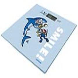 Balança digital para casa de banho Smile JATA 295K Kukuxumusu 150 Kg Azul Metal Vidro Função de memória Base antiderrapante Fáci