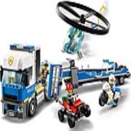 LEGO City Police 60244 Transporte de Helicóptero da Polícia