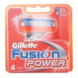 Reposição de Lâminas de Barbear Fusion Power Gillette (4 uds)