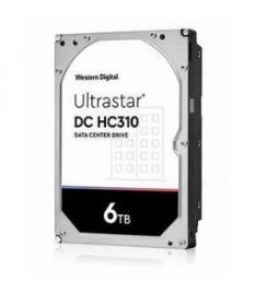 WD Ultrastar DC HC310 HUS726T6TALE6L4 - Disco Rígido - 6 TB - Interna - 3.5 - Sata 6GB/S - 7200 RPM - Buffer: 256 MB