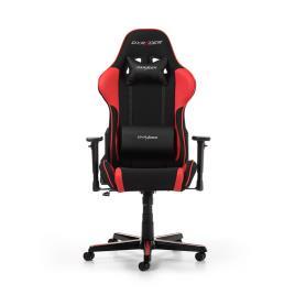 DXRACER Cadeira Gaming Formula F11-Pv, Pele Sintética e Tecido, Preto e Vermelho