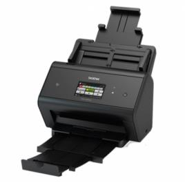 ADS-3600W - Scanner departamental com rede cablada e WiFi, USB 3.0, A4 co, uma velocidade de 50ppm (100ipm), alimentador automá