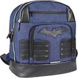 BATMAN - Mochila Casual Batman Azul marinho