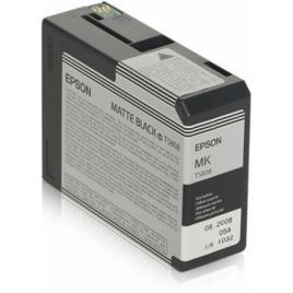 Tinteiro EPSON T5808 Preto Mate - Stylus Pro 3800/3880
