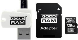 Cartão De Memória Microsd 128gb + Adaptador + Pen