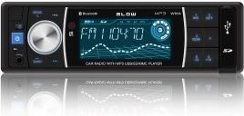 Blow - Auto Rádio RDS MP3 4x 60W com FM/MMC/SD/USB/AUX/BLUETOOTH + Comando - BLOW
