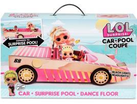LOL SURPRISE! - Boneco L.O.L. SURPRISE! Car-Pool Coupe (Idade Mínima: ?4 Anos)