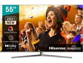 HISENSE - Televisão Smart Hisense 55 ULED UHD 4K U8GQ