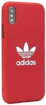 ADIDAS - Capa iPhone X, XS ADIDAS Moulded Vermelho