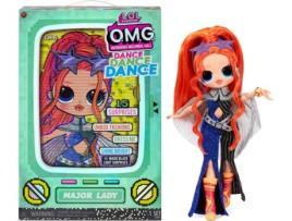 LOL SURPRISE! - Boneco L.O.L. SURPRISE! OMG Dance Doll Major Lady (Idade Mínima: ?4 Anos)