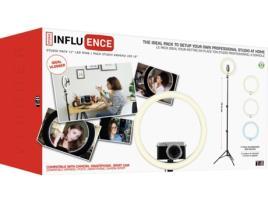 TNB - TNB Ring Light Influence, 12, com Tripé