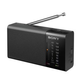 RADIO SONY PORT.FM/AM-PRETO -ICFP36