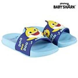 BABY SHARK - Chinelos para Crianças Baby Shark Azul - 26-27