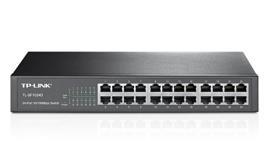 TP-Link Switch de 24 portas 10/100Mbps TL-SF1024D