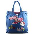 HELLO KITTY - Hello Kitty  Bolsa Saco Moderno  Azul Disponível em tamanho para senhora. Único.Mulher > Bolsa > Malas