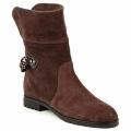 MARC JACOBS - Marc Jacobs  Botas baixas CHAIN BOOTS  Castanho Disponível em tamanho para senhora. 37,38.Mulher > Sapatos > Botins