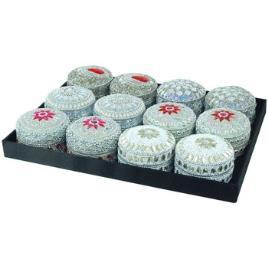 Signes Grimalt  Malas, carrinhos de Arrumação Pillbox Bandeja 12U  Branco Disponível em tamanho para senhora. Único.Casa >Malas, carrinhos de Arrumação