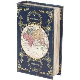 Signes Grimalt  Malas, carrinhos de Arrumação Box World Book  Cinza Disponível em tamanho para senhora. Único.Casa >Malas, carrinhos de Arrumação