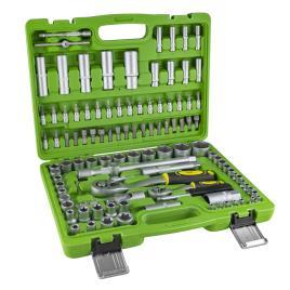 Caixa de ferramentas 108 peças com chaves hexagonais cromadas JBM 53732