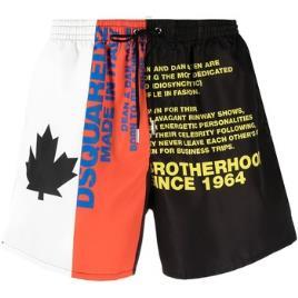 DSQUARED2 SWIMWEAR - Dsquared2 Swimwear  Fatos e shorts de banho D7B543900  Multicolor Disponível em tamanho para homem. IT 46,IT 50,IT 52.Homem > Roupas > Fatos de Banho