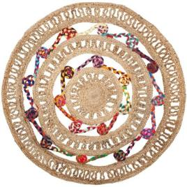 Signes Grimalt  Tapetes Juta Cores Red Carpet  Bege Disponível em tamanho para senhora. Único.Casa >Tapetes