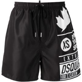 DSQUARED2 SWIMWEAR - Dsquared2 Swimwear  Fatos e shorts de banho D7N5M3690  Preto Disponível em tamanho para homem. IT 46,IT 48,IT 50,IT 52.Homem > Roupas > Fatos de Banho