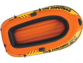 INTEX - Barco Insuflável Explorer Pro 200 Intex (196 x 102 x 33 cm)