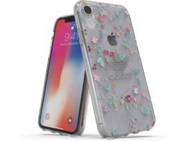 ADIDAS - Capa iPhone XR ADIDAS Clear Transparente