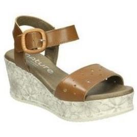 NATURE - Nature  Sandálias 3957  Castanho Disponível em tamanho para senhora. 40,41.Mulher > Calçasdos > Sandálias e rasteirinhas