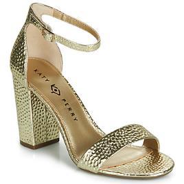 KATY PERRY - Katy Perry  Sandálias THE GOLDY  Ouro Disponível em tamanho para senhora. 40,41.Mulher > Calçasdos > Sandálias e rasteirinhas
