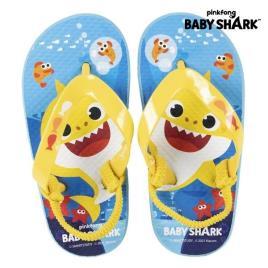 BABY SHARK - Chinelos para Crianças Baby Shark Azul - 24-25