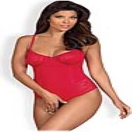 Body com Renda Jolierose Obsessive Vermelho - L/XL