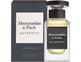 ABERCROMBIE & FITCH - Perfume ABERCROMBIE & FITCH Authentic Man Eau de Toilette (50 ml)