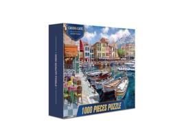 MEGA - Puzzle MEGA Cassis Café (Idade mínima: 12 anos - 1000 peças)