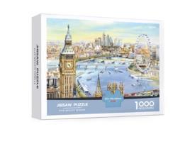 MEGA - Puzzle MEGA Cidade (Idade mínima: 15 anos - 1000 peças)